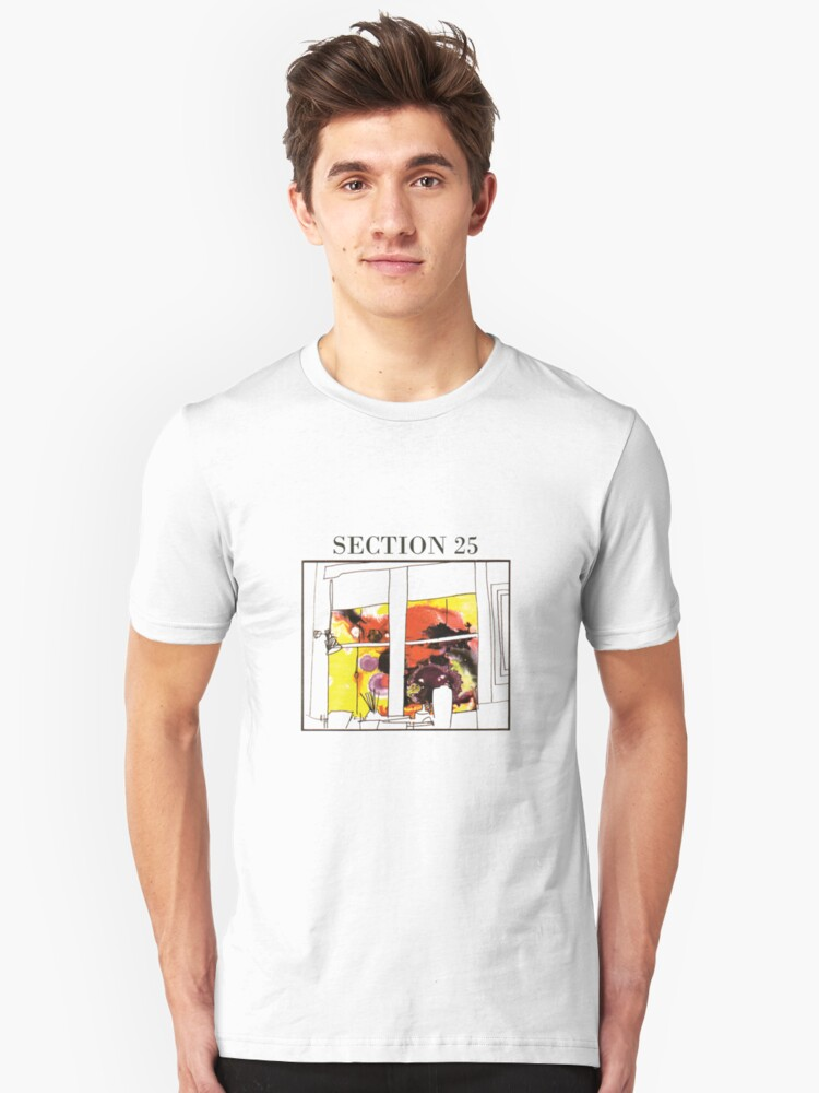 Section 25 Unisex T-Shirt Front