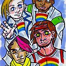Rainbow Kids by Shannon Hedges