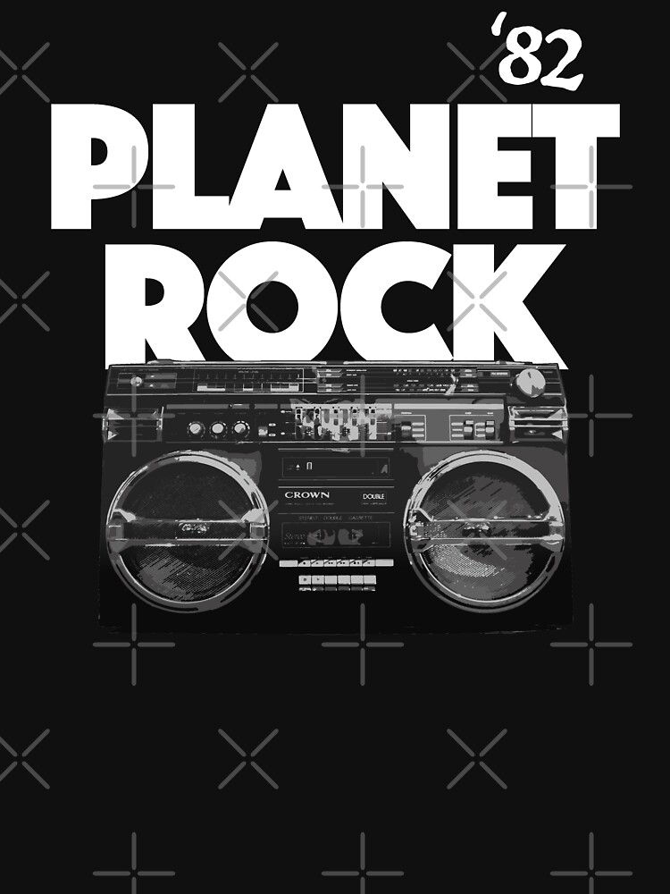 Planet Rock, Classic Hip Hop, 1982 by BonafideIcon