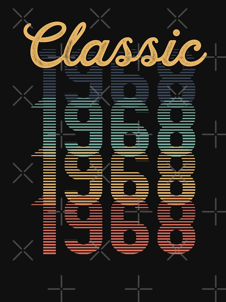 Vintage 1968 Classic by funny-gift