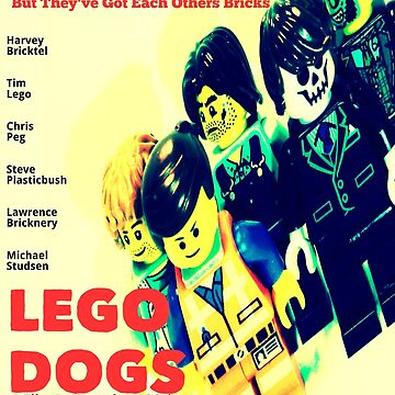 LEGO Dogs by toastedmoose