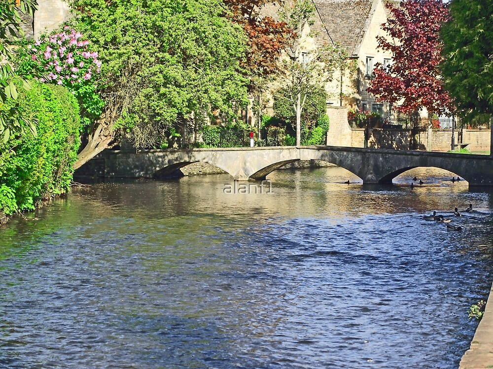 Bourton-on-the-Water by alanf1