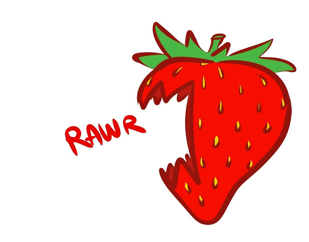 Aggressive Strawberry by RollingPenguin