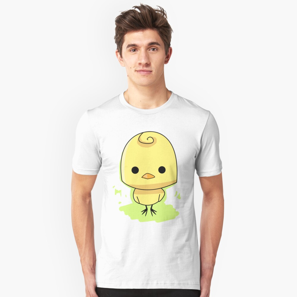 Cute Chicken Chick Unisex T-Shirt Front