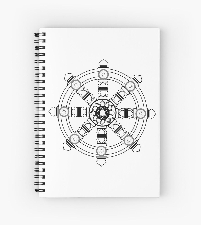 The dharma wheel by tree-of-sorts
