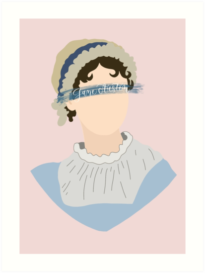 Jane Austen Art by alwaysbookish