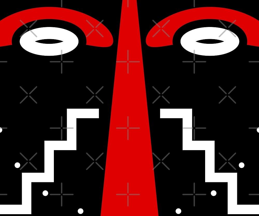 ligbi tribal mask by TM Selvam