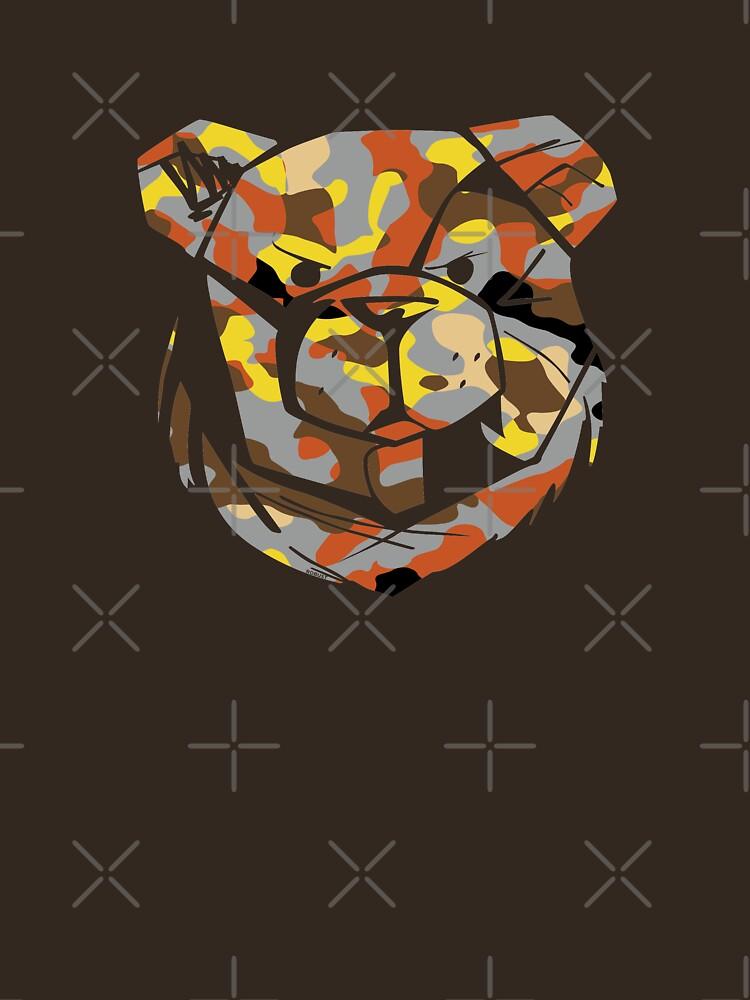 ROBUST BEAR ARMY BEAR by Robust