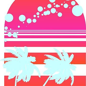 Hawaiian sun set by rudale