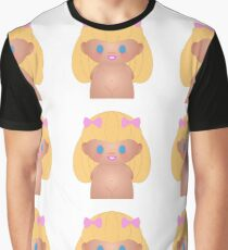 girl peg doll with blonde hair Graphic T-Shirt
