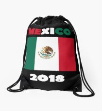 Mexico 2018 - Soccer Cup Drawstring Bag