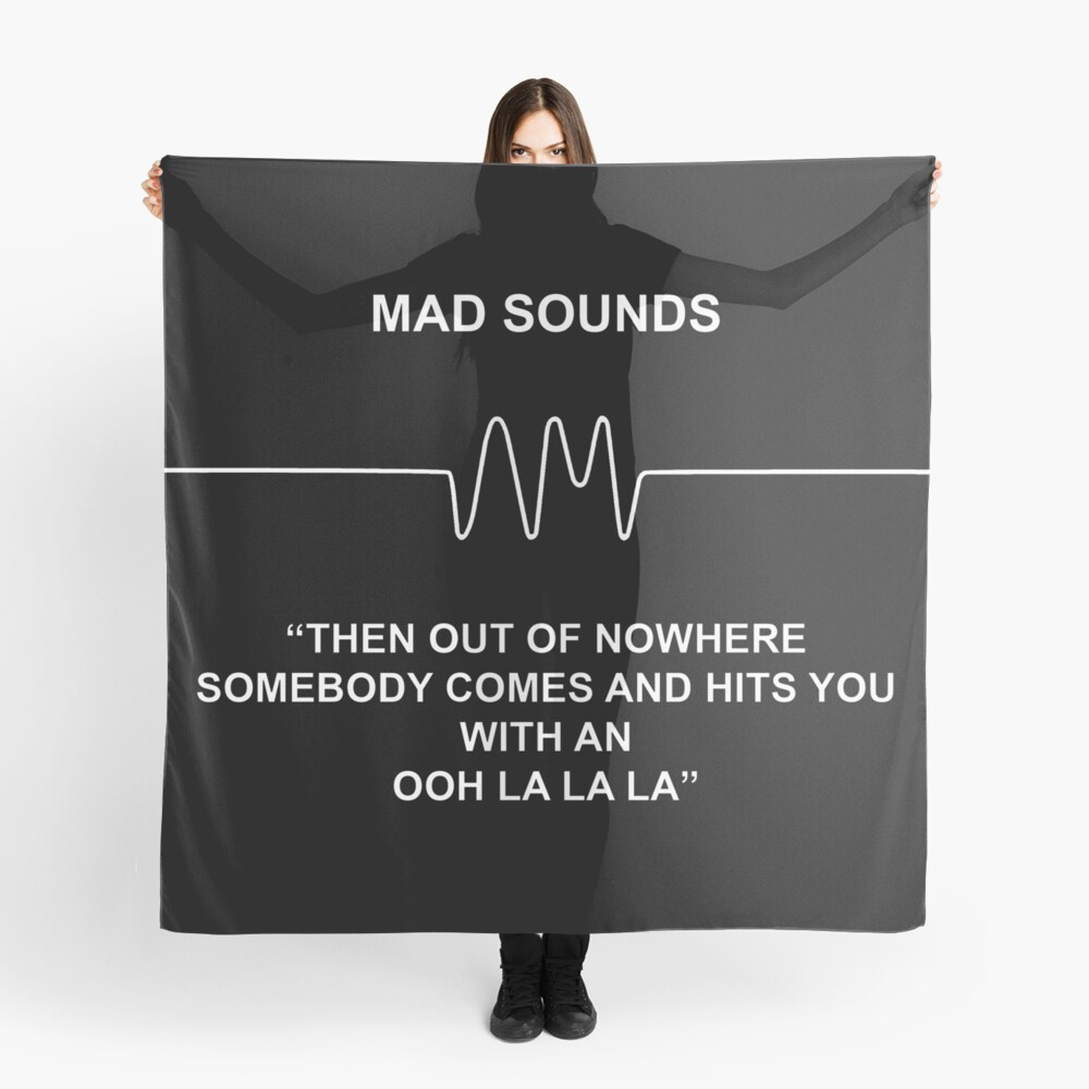 Mad Sounds - Arctic Monkeys AM-Lied Tuch