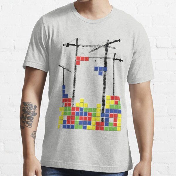 Tetris Skyline Essential T-Shirt