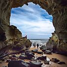 The Caves - Inverloch by Jim Worrall