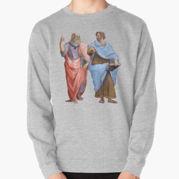 Plato and Aristotle  Pullover Sweatshirt