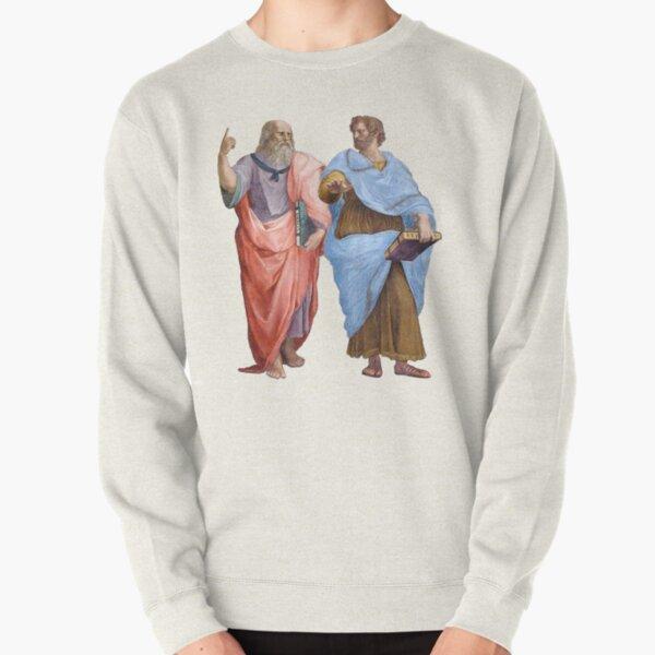 Plato and Aristotle  Pullover Sweatshirt