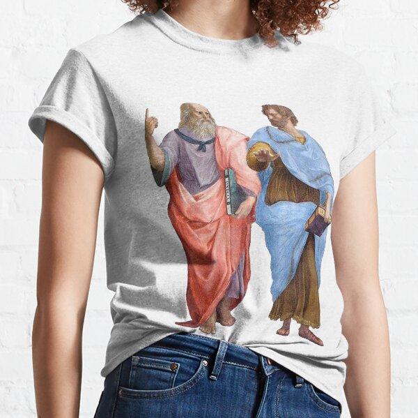 Platón y Aristóteles Camiseta clásica