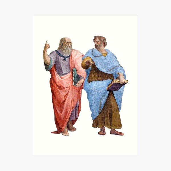 Plato and Aristotle  Art Print