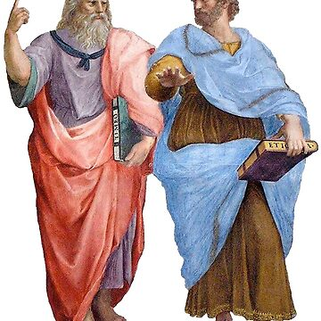 Plato and Aristotle  by tree-of-sorts