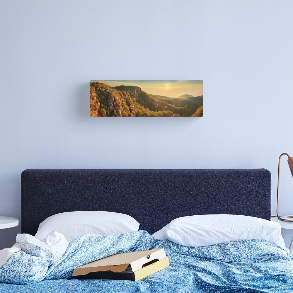 Mt William from Mitchell Plateau, Grampians, Victoria, Australia Canvas Print