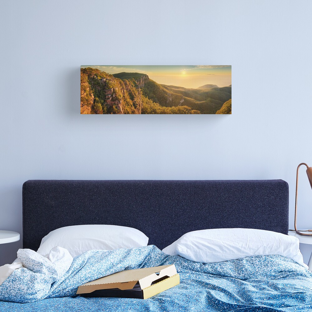 Mt William from Mitchell Plateau, Grampians, Victoria, Australia Canvas Print