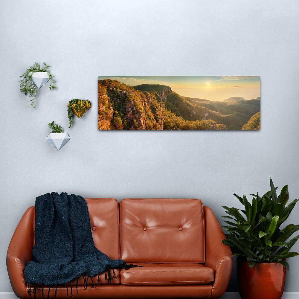 Mt William from Mitchell Plateau, Grampians, Victoria, Australia Metal Print