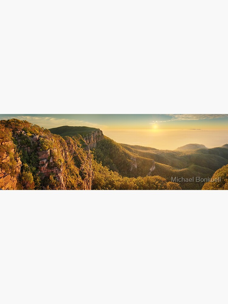 Mt William from Mitchell Plateau, Grampians, Victoria, Australia by Chockstone