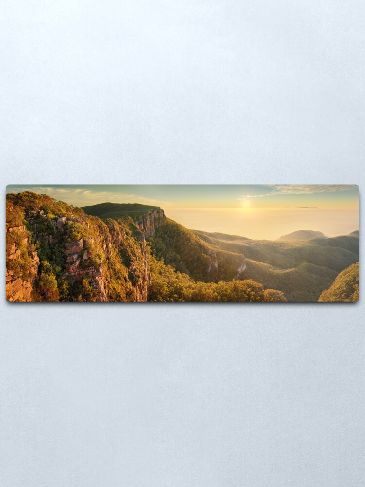 Alternate view of Mt William from Mitchell Plateau, Grampians, Victoria, Australia Metal Print