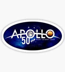 The NASA Apollo 50th anniversary logo Sticker
