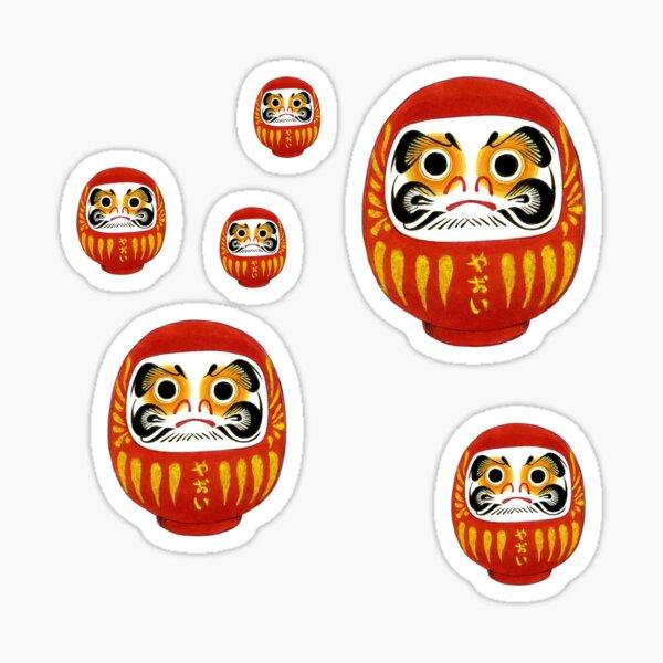 Daruma 2 Sticker
