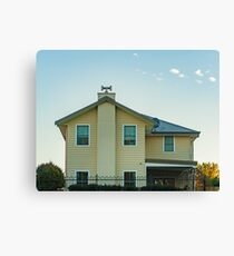 Putting The 'H' In Suburbia Canvas Print