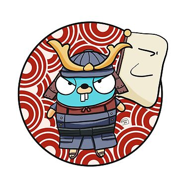 Samurai Gopher - Golang by maestromakhan