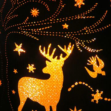 Deer Light by MaeBelle