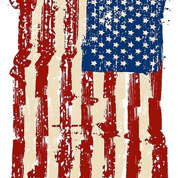 American by mounir1239