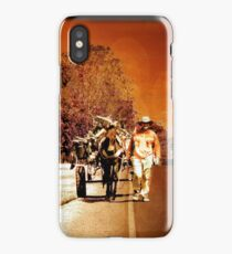 Wood Recycler In The Dry Arc Of Panama iPhone Case
