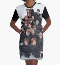 NCT Graphic T-Shirt Dress