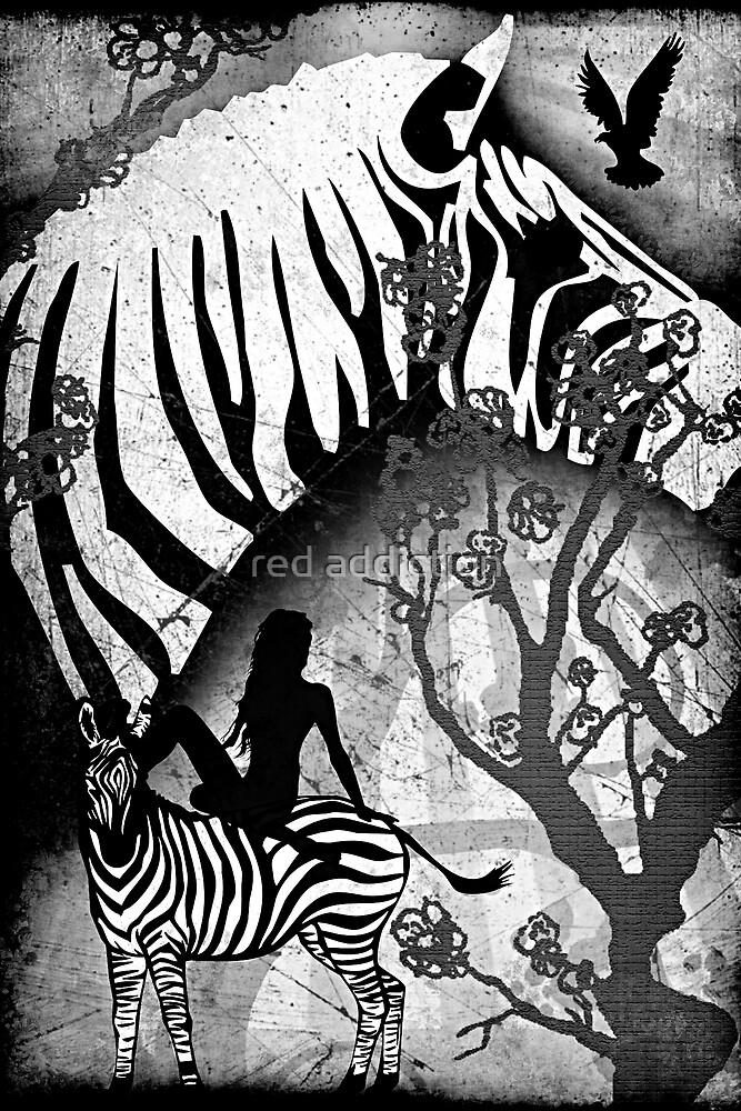 In My Black and White Dream by red addiction