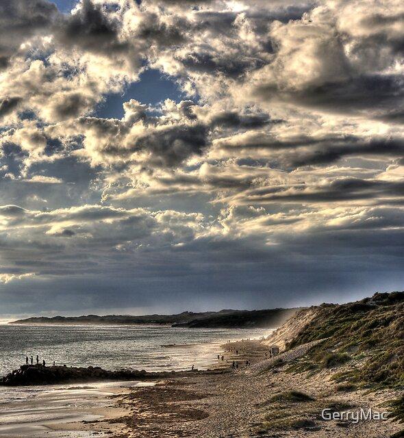 Afternoon Beach Fishing...  by GerryMac