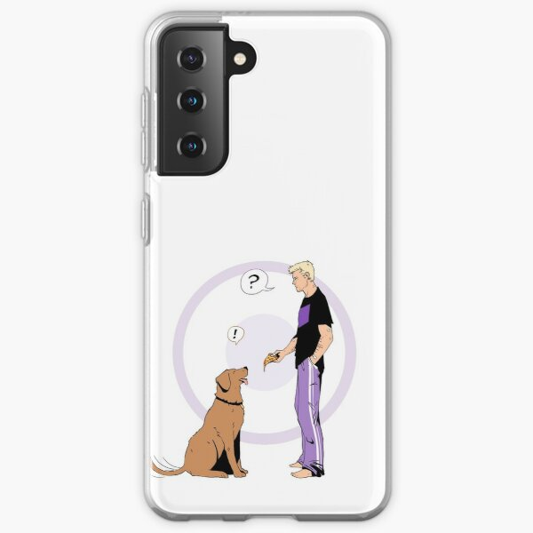 Hawkguy and Pizza Dog (color) Samsung Galaxy Soft Case