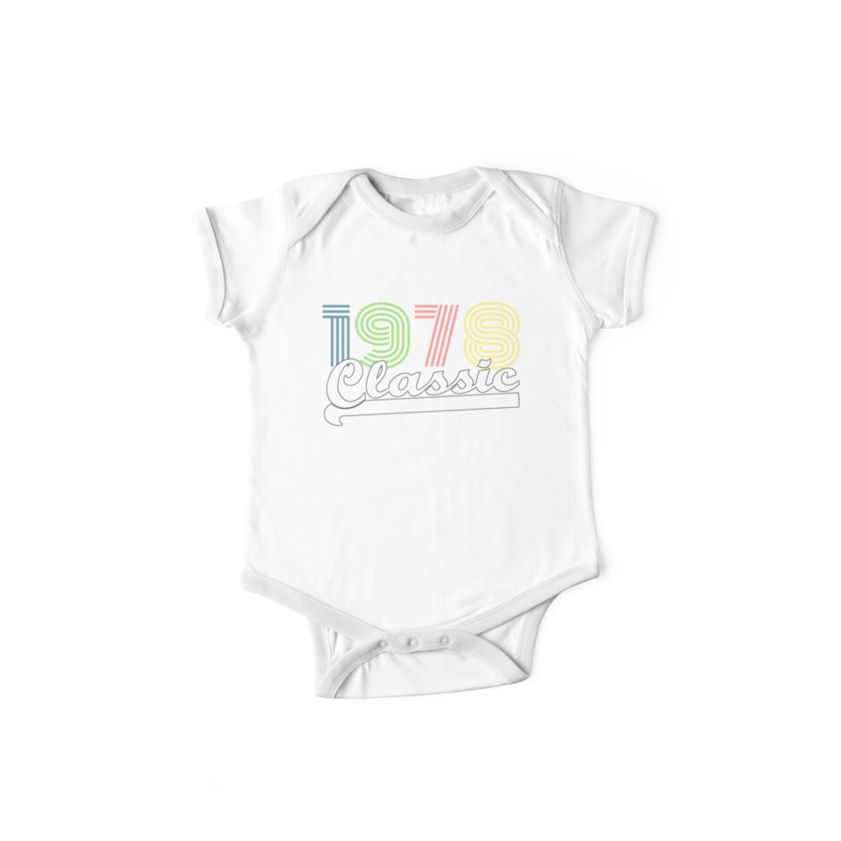 1978 Classic Vintage 78 2088 1988 40th Birthday T Shirt Gift Age Year Old Boy Girl Cute Funny Man Woman Jersey Style Tee Hoodie 40 Th Fortieth Mens Womens
