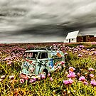 Flower camper 1 by Gary Power