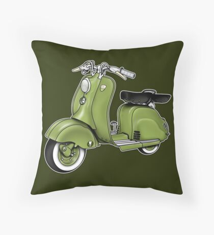 Scooter T-shirts Art: LD 150 - 1955 vintage scooter illustration Floor Pillow