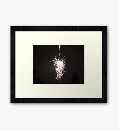 Light Up The Sky Framed Print