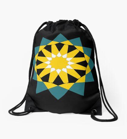 12 Pointed Star Drawstring Bag
