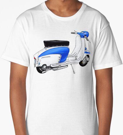 Scooter T-shirts Art: TV 175 Lambretta illustration Long T-Shirt
