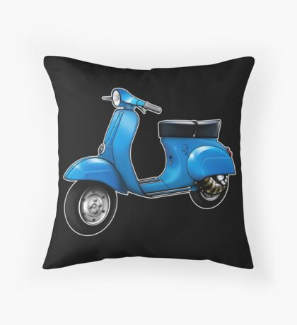 Scooter T-shirts Art: Small Frame Hot Rod scooter  Floor Pillow