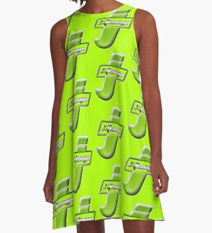 Scooter T-shirts Art: J Range scooter design A-Line Dress