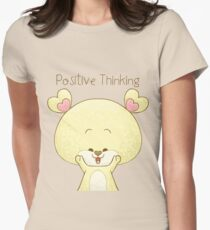 Positive Thinking  Women's Fitted T-Shirt