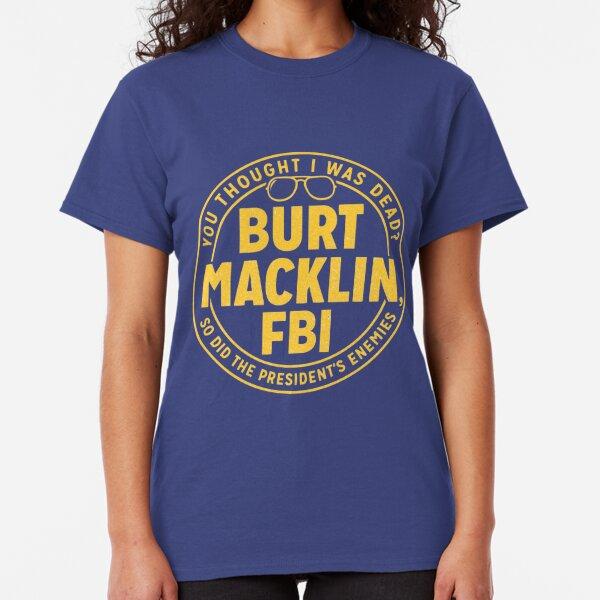 Parks and Rec Burt Macklin FBI Classic T-Shirt
