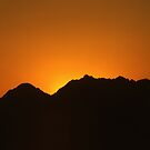 Sunset in Sinai by Steve Dowdeswell